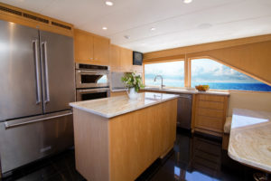 Roamin Holiday Galley low 300x200 Yachts